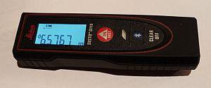 Messung mit dem Disto D110